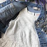 Летний джинсовый костюм на девочку 30. Размер 110 см, фото 2