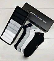 Мужские носки Tommy Hifiger 9 пар Набор Мужских  трусов Носки укороченные