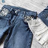 Летний джинсовый костюм на девочку 30. Размер 110 см, фото 3