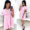 Платье рюши свободное в расцветках 931260, фото 6