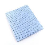 Профессиональная перфорированная тряпка 40x40 см для мойки авто синяя Nowax (NX62442)