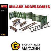 Модель 1:35 - Miniart - Village accessories (MA35539) пластмасса