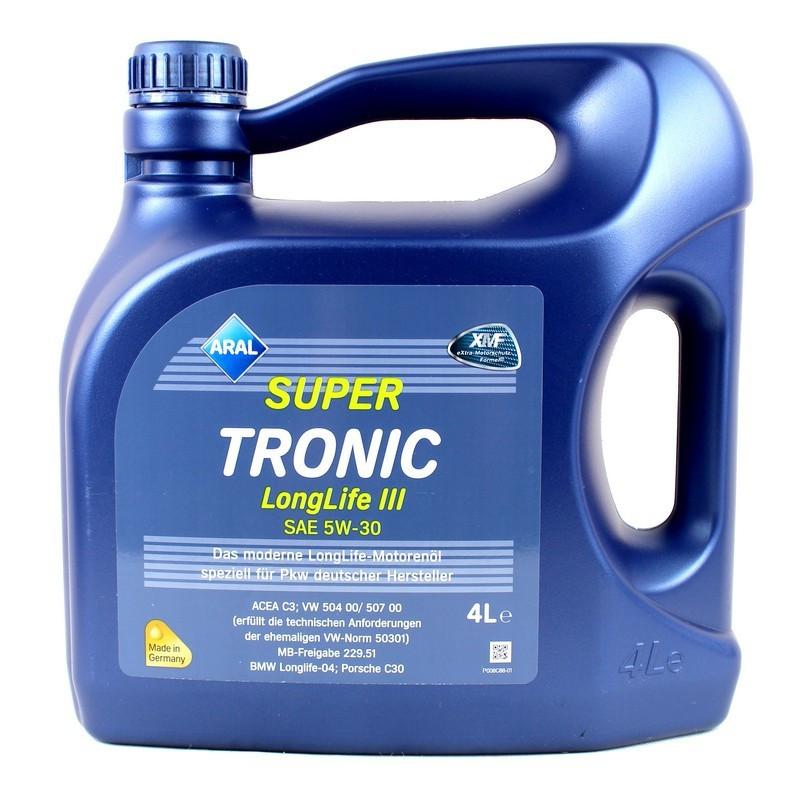 Моторне масло Aral 20479 Super Tronic LongLife III 5W-30 4L