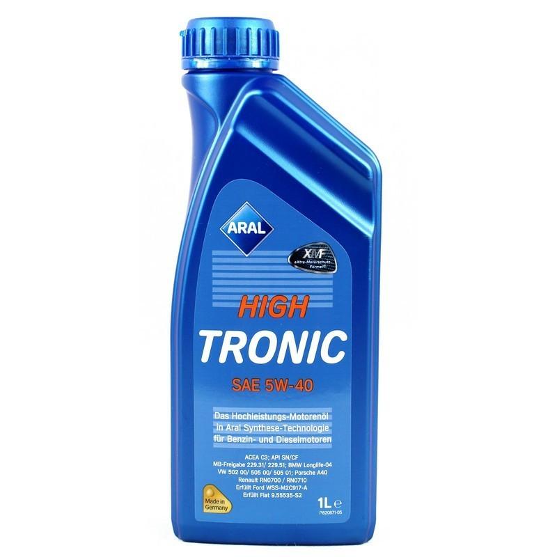 Моторное масло Aral 20637 High Tronic 5W-40 1L