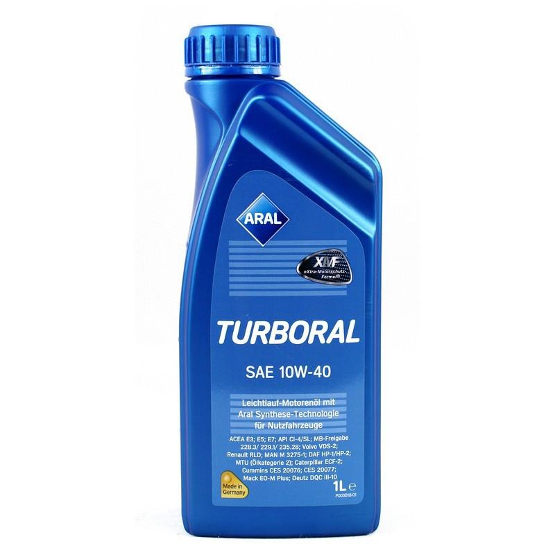 Моторное масло Aral 21197 Turboral 10W-40 1L