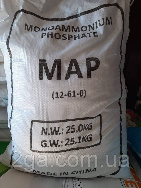 Моноамонійфосфат NP 12-61-0 , 25кг