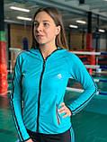 Женский спортивный костюм комплект Adidas Адидас (L/XL), фото 8