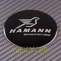 Наклейки для дисков с эмблемой BMW Hamann. ( БМВ Хаман ) Цена указана за комплект из 4-х штук
