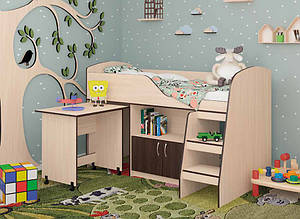 Кровать чердак КД-07 Maxi Меблі