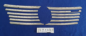 Хром накладка на решетку радиатора mercedes sprinter 98-2000