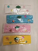 Повязка Клубника для девочки от 1-3 лет, фото 1