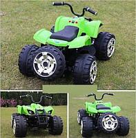 Детский электрический квадроцикл  K1954 зеленый