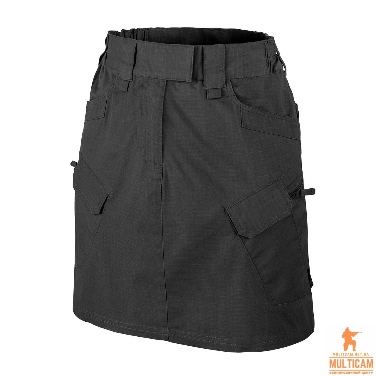 Юбка женская Helikon-Tex® UTL SKIRT® (Urban Skirt®) - PolyCotton Ripstop - Black