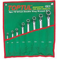 Набор накидных ключей TOPTUL 6-22мм (угол 45°) 8ед. GPAH0804