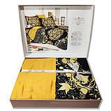 Комплект постельного белья TM Nazenin сатин размер евро Golden, фото 2