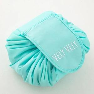 Косметичка-органайзер Vely Vely | Органайзер-мешок для косметики | Бирюзовый