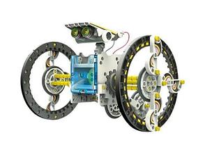 Конструктор робот на солнечных батареях Solar Robot 14 в 1 | Игрушка робот, фото 3