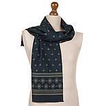 Фокстрот 698-14, павлопосадский шарф (кашне) шерстяной  двусторонний мужской с осыпкой, фото 2