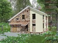 Каркасный дом - американский проект Памир 250кв.м.