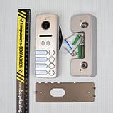 Видеопанель Tantos iPanel 2 Metal 4 абонента (106243), фото 4