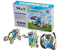 Конструктор робот на солнечных батареях Solar Robot 14 в 1   Игрушка робот