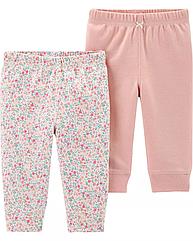 Легкие штанишки для новорожденной девочки Carter's nb/до 55 см