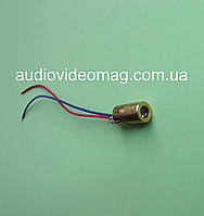 Светодиод 5V 6 мм, лазерный, цвет красный