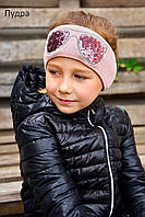 Повязка на голову весенняя для девочки 48-55 (2-8лет)