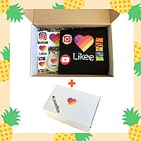 Подарочный набор Лайк Likee Box Лайки Бокс Black в фирменной коробке Лайк