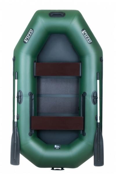 Надувная лодка Ладья ЛТ-240-СЕ со слань-ковриком