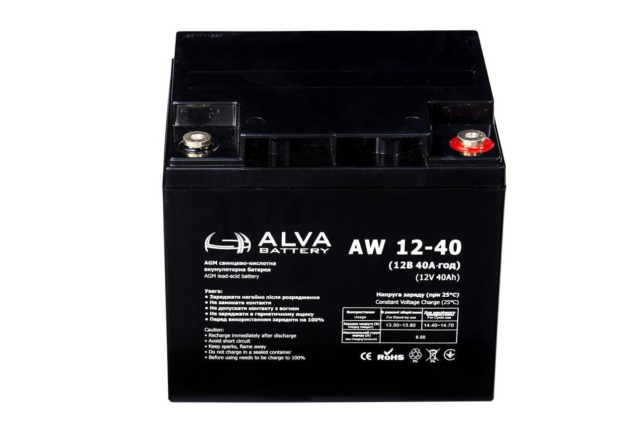 Аккумулятор ALTEK AW12-40