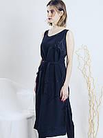 Черное платье миди, размер M, арт. 0621-1097