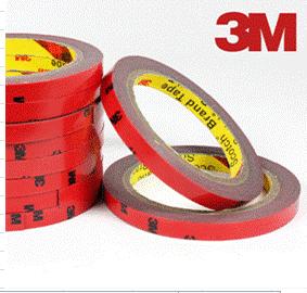 Скотч двусторонний 3М 2 метра 6 мм