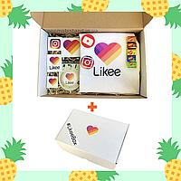Подарочный набор Likee Box (Лайки Бокс) White в фирменной коробке Лайк