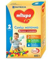 Milupa Смесь молочная 2, 600г (6-12 мес) Суміш молочна суха