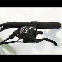 """Гірський велосипед 28 дюймів Azimut Street FRD рама 15,5-17 """" BLACK-RED, фото 3"""