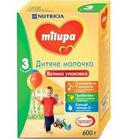 Milupa Смесь молочная 3 (детское молочко) 600г 12м+ Суміш молочна суха
