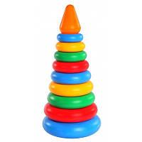 Развивающая игрушка Пирамидка 11 элементов 39103