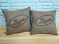 Подушка с вышивкой вашего логотипа, фото 9