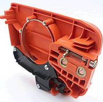 Тормоз ручной бензопилы (в сборе) для Хускварна (Husqvarna) 235/236/240 (+ натяжитель цепи) KZ
