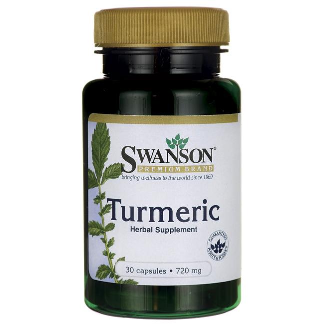 Куркумин, 720 мг. 30 капсул