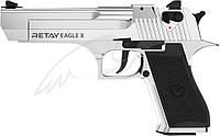 Пистолет стартовый Retay Eagle X. Цвет - nickel., фото 1