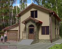 Карксный дом - американский проект Березка 170 м.кв.