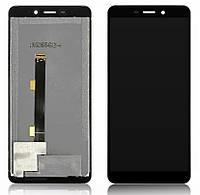 Дисплейный модуль Ulefone Armor X5 черный (Тачскрин+дисплей)