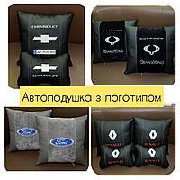 Подушка с логотипом машины, подголовники Бабочка,  автоподушки, фото 1