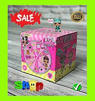Кукла ЛОЛ (LOL) Кукла сюрприз в шаре (конфетти поп 9 surprises 35+ to collect, 3 series)
