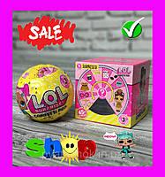 Кукла ЛОЛ (LOL) Кукла сюрприз в шаре (конфетти поп 9 surprises 45+ to collect, 3 series)