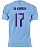Футбольная форма ФК Манчестер Сити De Druyne (Manchester City De Druyne) 2019-2020 Домашняя Детская