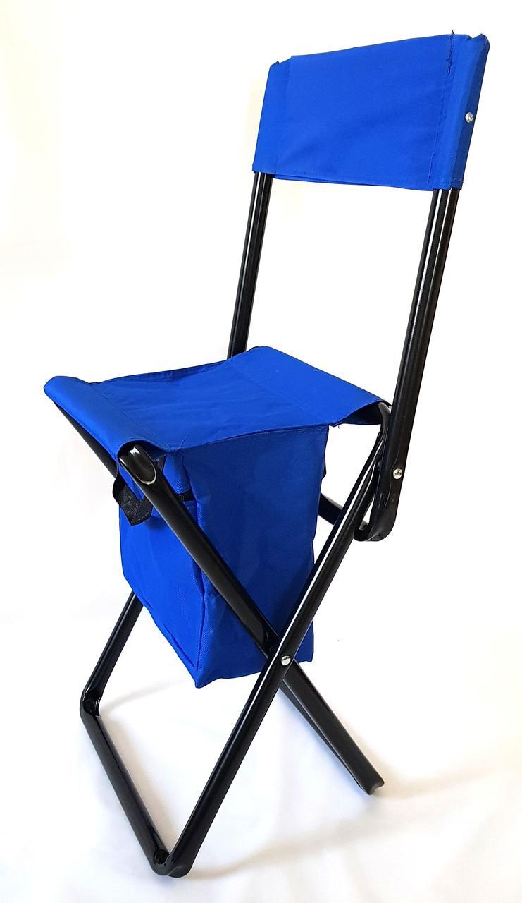 Стульчик-сумка раскладной со спинкой HKC 243