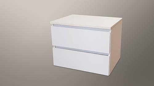 Прикроватная тумбочка Норд 5 цвет нимфея альба (белый)
